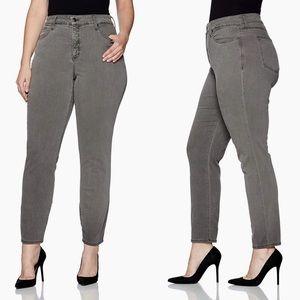 NYDJ Alina Leggings Stretch Skinny Jeans Size 12